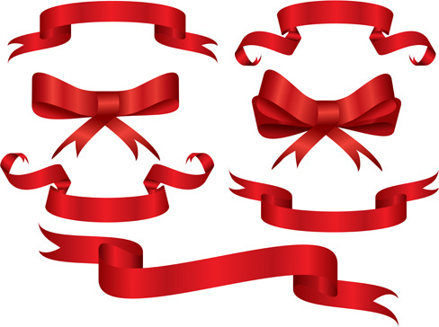 488x364 Red Ribbon Banner Free Vector Download (18,130 Free Vector) For
