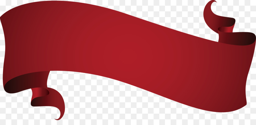 900x440 Wine Red Euclidean Vector Ribbon
