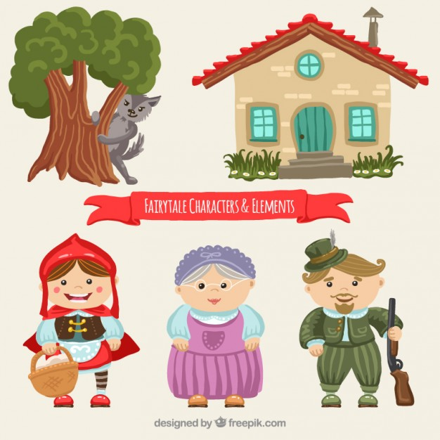 626x626 Little Red Riding Hood Vectors, Photos And Psd Files Free Download