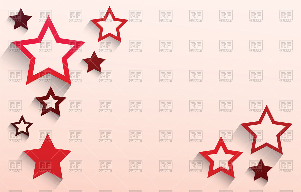 1200x767 Abstract Red Star Background Vector Image Vector Artwork Of