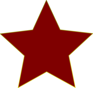 300x282 Red Star Clip Art