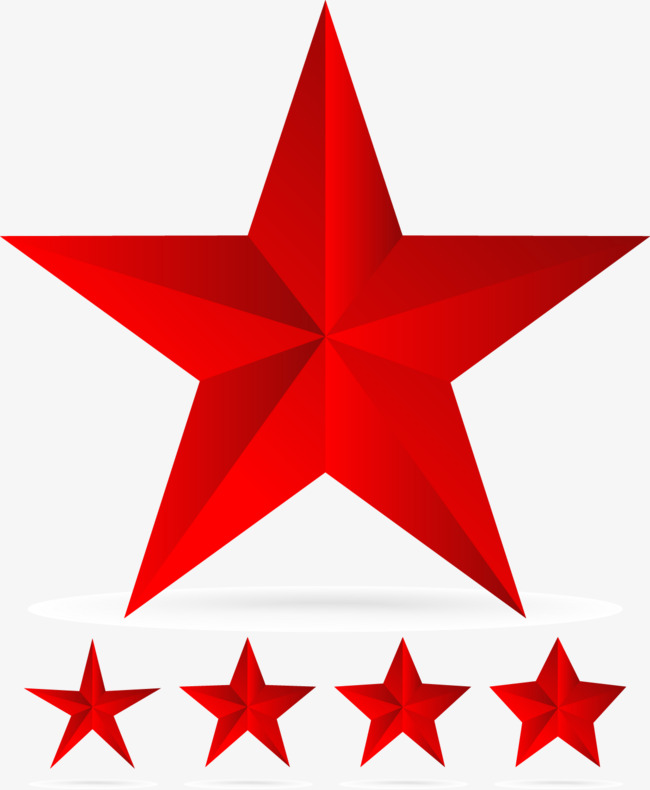 650x790 Red Stars Vector, Decoration, Vector, Red Png And Vector For Free