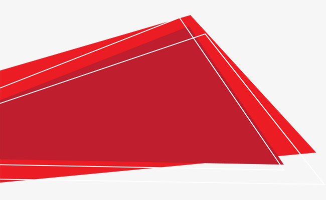 650x400 Red Flat Irregular Shape, Gules, Shape, Geometric Decoration Png