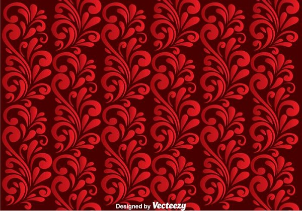 Red Vector Background