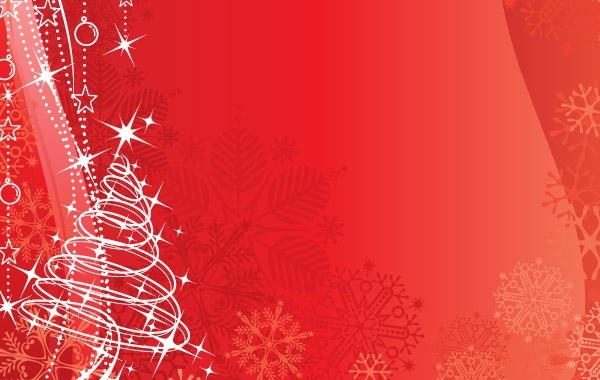 600x380 Free Vectors Red Vector Background Christmas Amp New Year Gfxtra