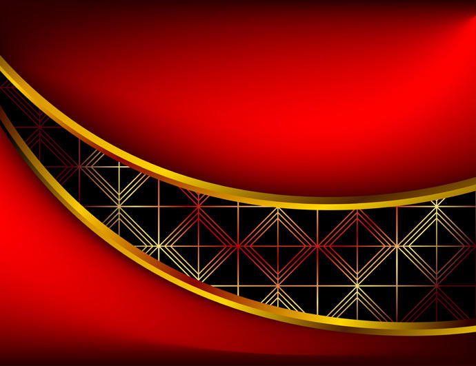 690x531 Red 3d Background