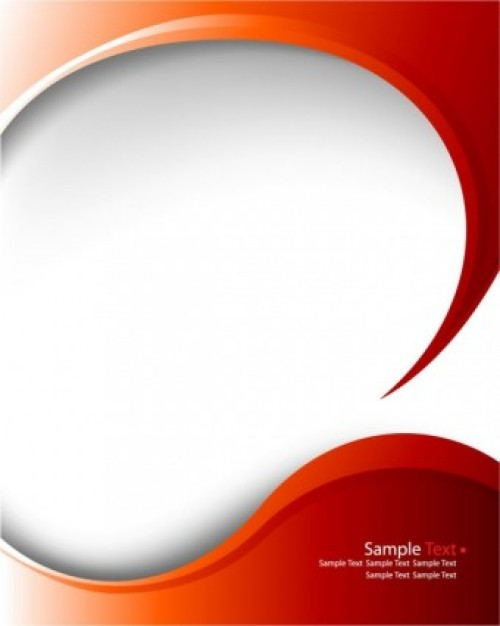 500x626 Red Arc Pattern Background Vector