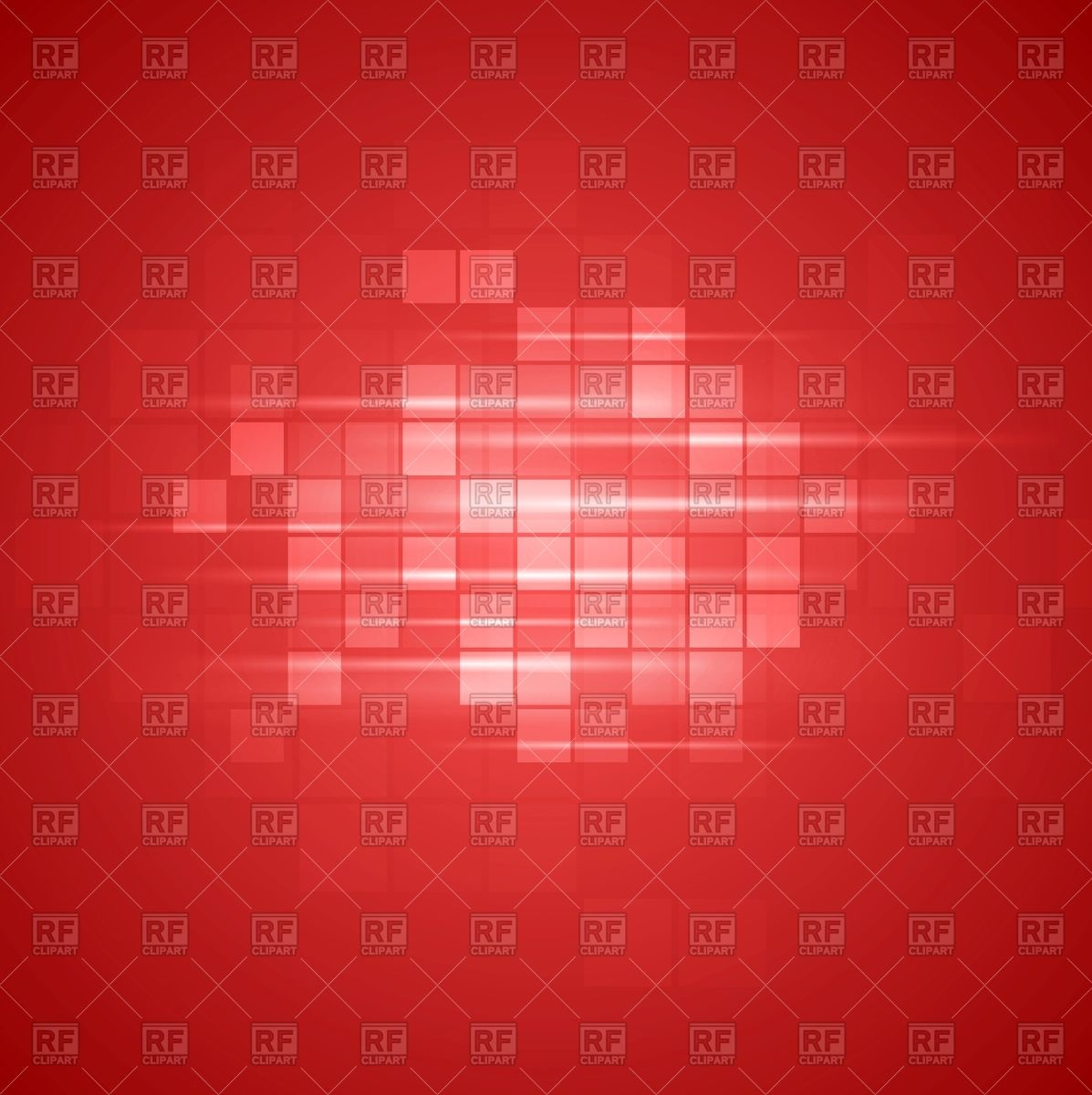 1197x1200 Red Tech Background With Squares Vector Image Vector Artwork Of