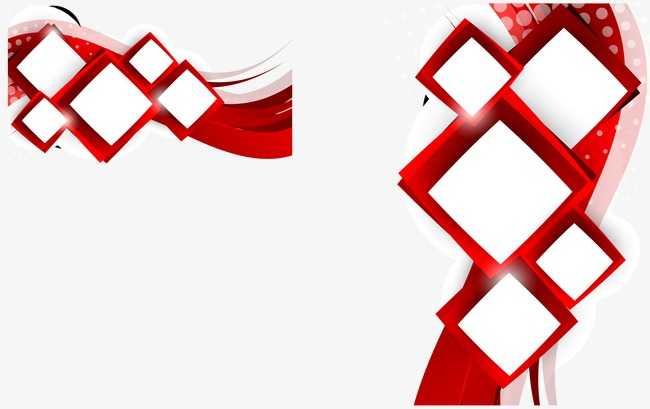 650x409 Vector Square Background, Red, Vector, Creative Design Png And
