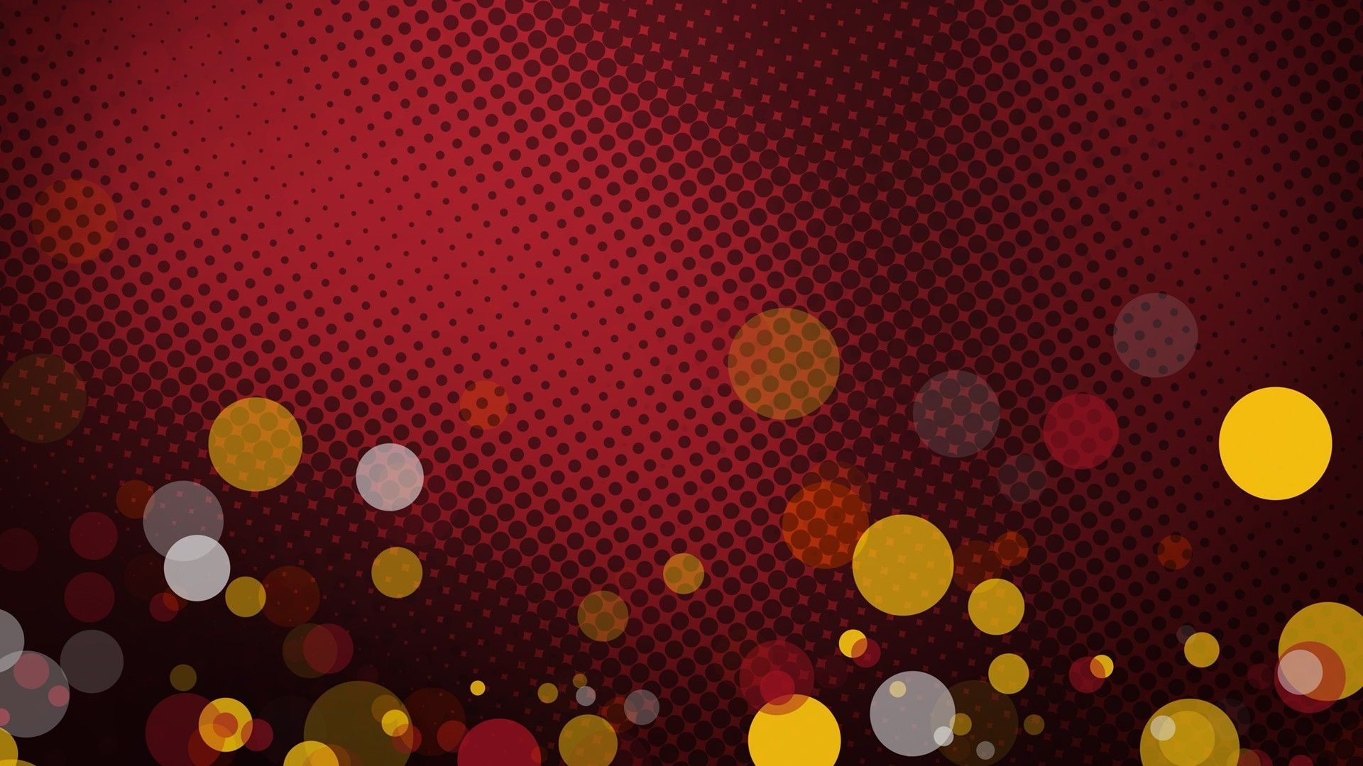 1920x1080 Vector Background Design Red Hd