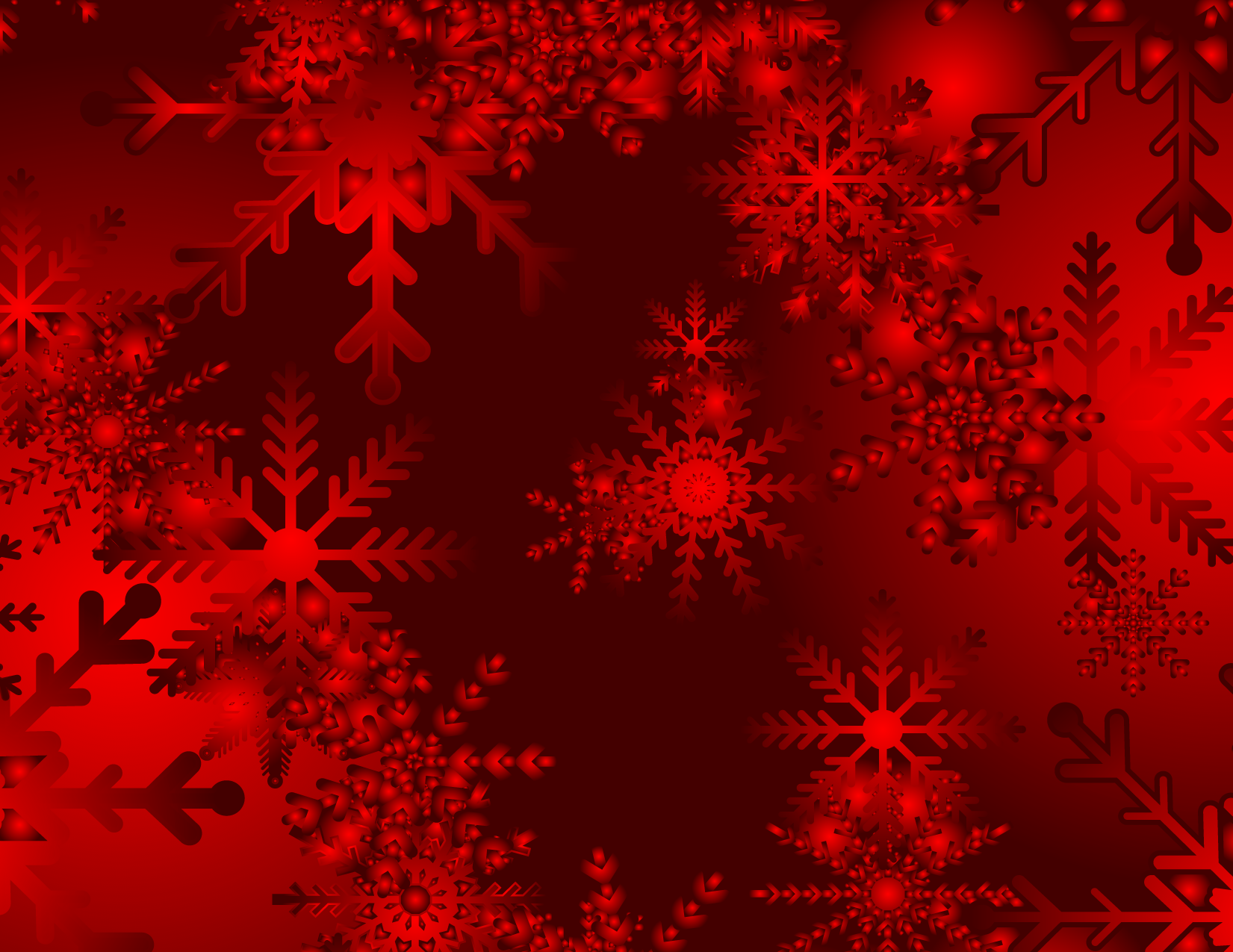 1651x1275 Christmas Snowy Red Vector Background Free Vector Background