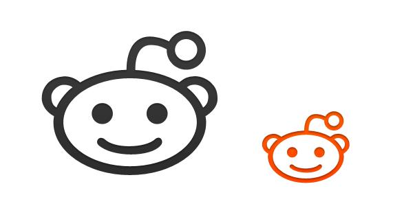 600x300 Reddit Icon Vector