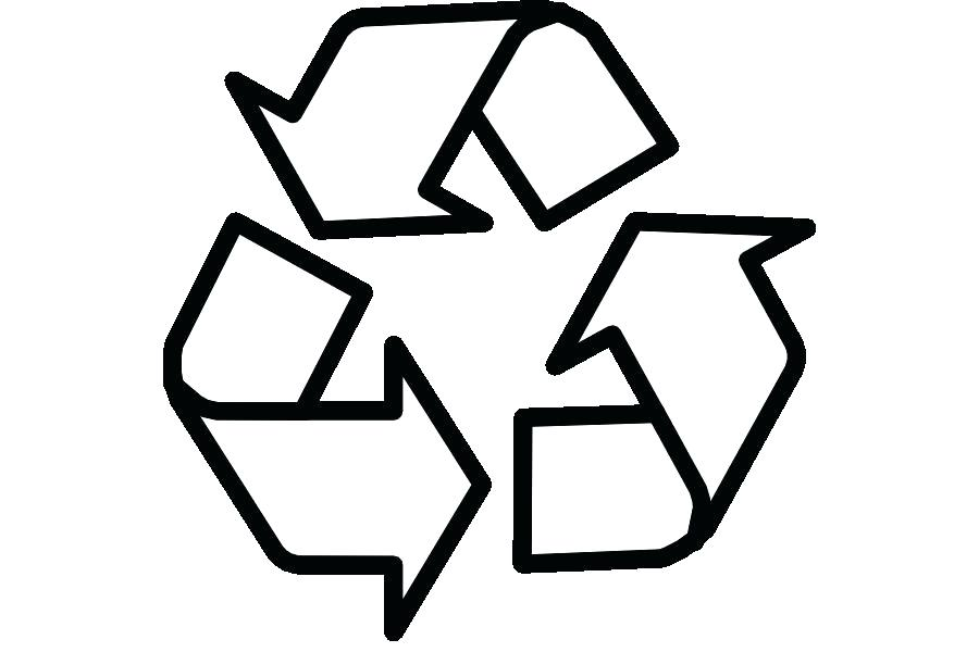 900x600 Printable Recycle Symbol Paper Recycling Recycling Symbol Clip Art