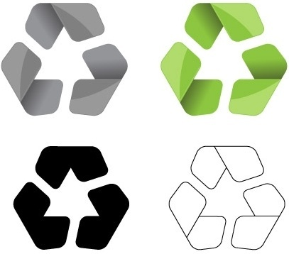 407x358 Reduce Reuse Recycle Symbol Free Vector Download (21,886 Free