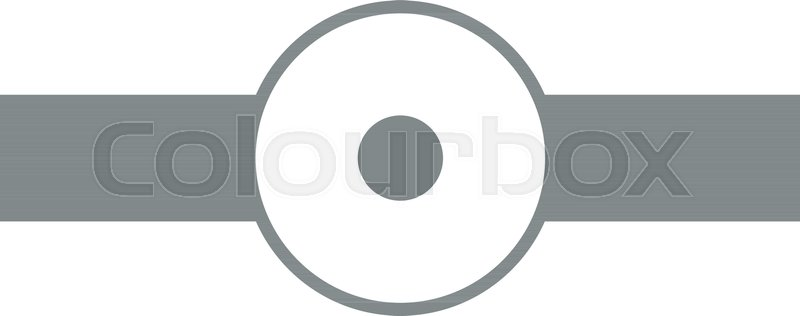 800x316 Simple Doctor Reflector Vector Graphic Illustration Design Stock