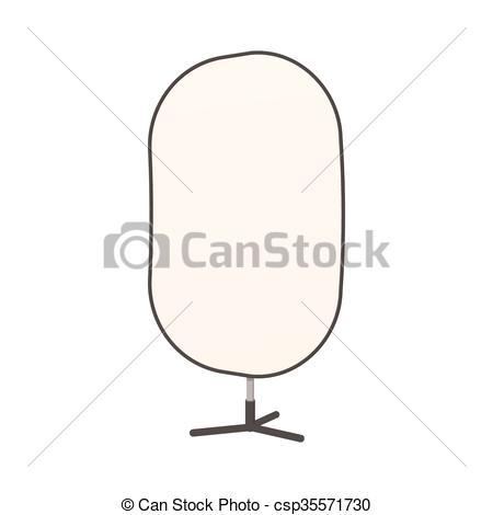 450x470 Studio Reflector Icon, Cartoon Style. Studio Reflector Icon In