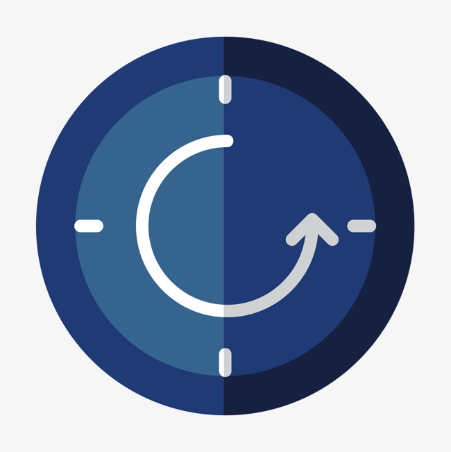 650x651 Blue Time Clock, Blue, Ring, Reflector Png And Vector For Free