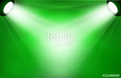 500x322 Vector Reflector Spotlight Lamps Illustration Stock Image And