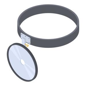 300x300 Reflector Object Royalty Free Vectors