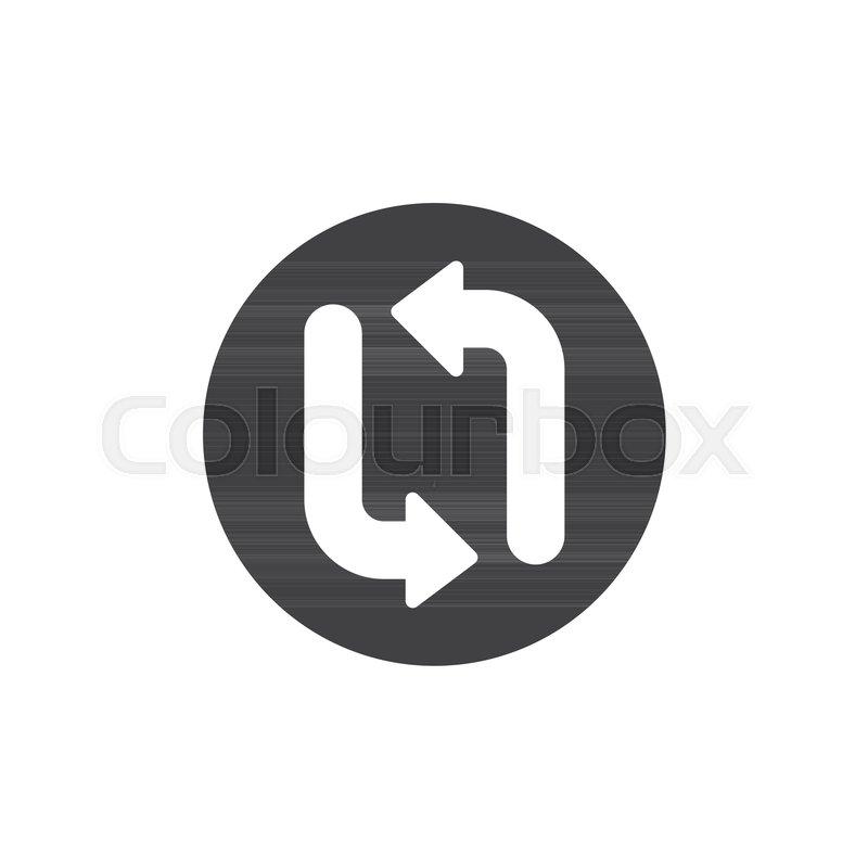 Refresh Icon Vector