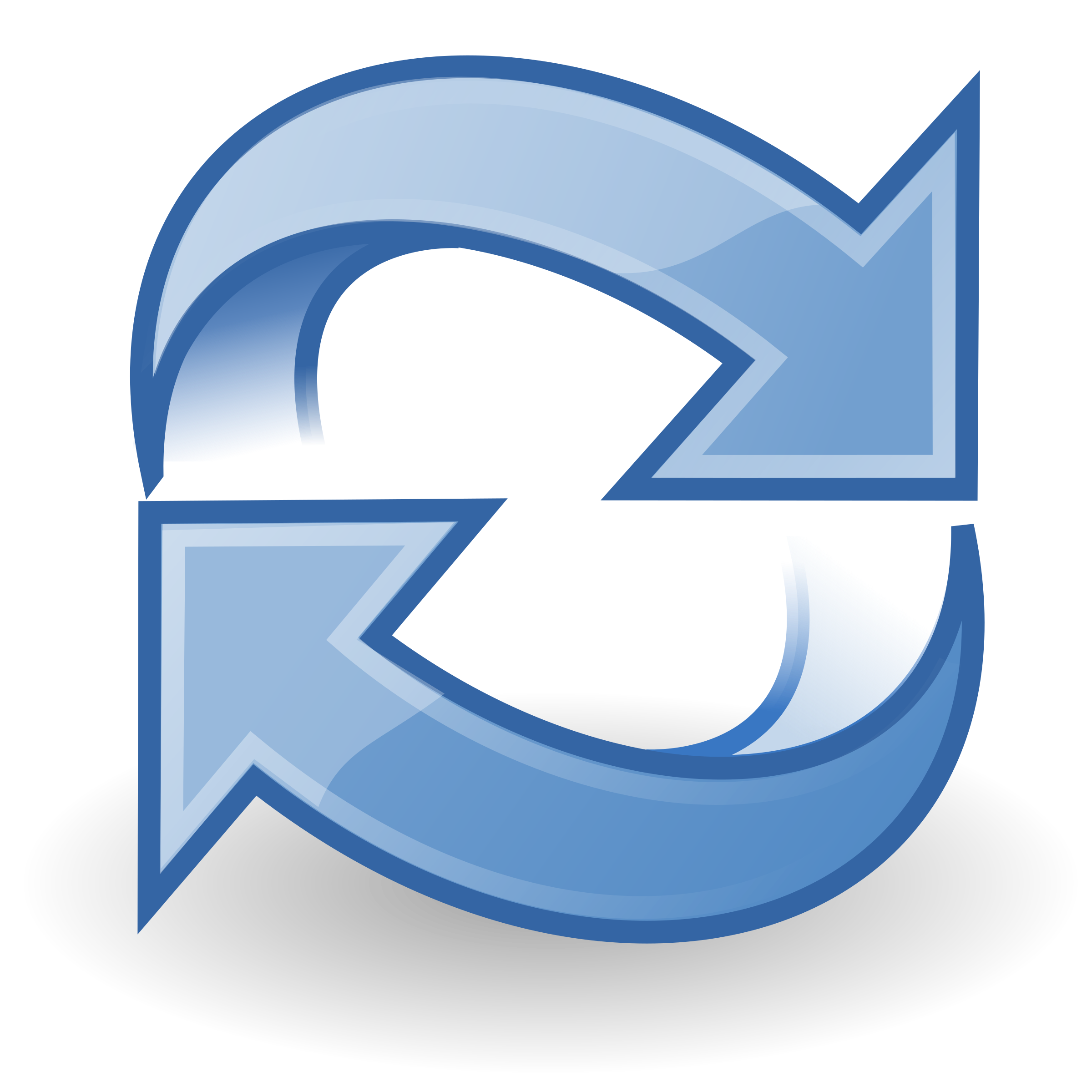 2400x2400 Refresh Icon Vector Clipart Image