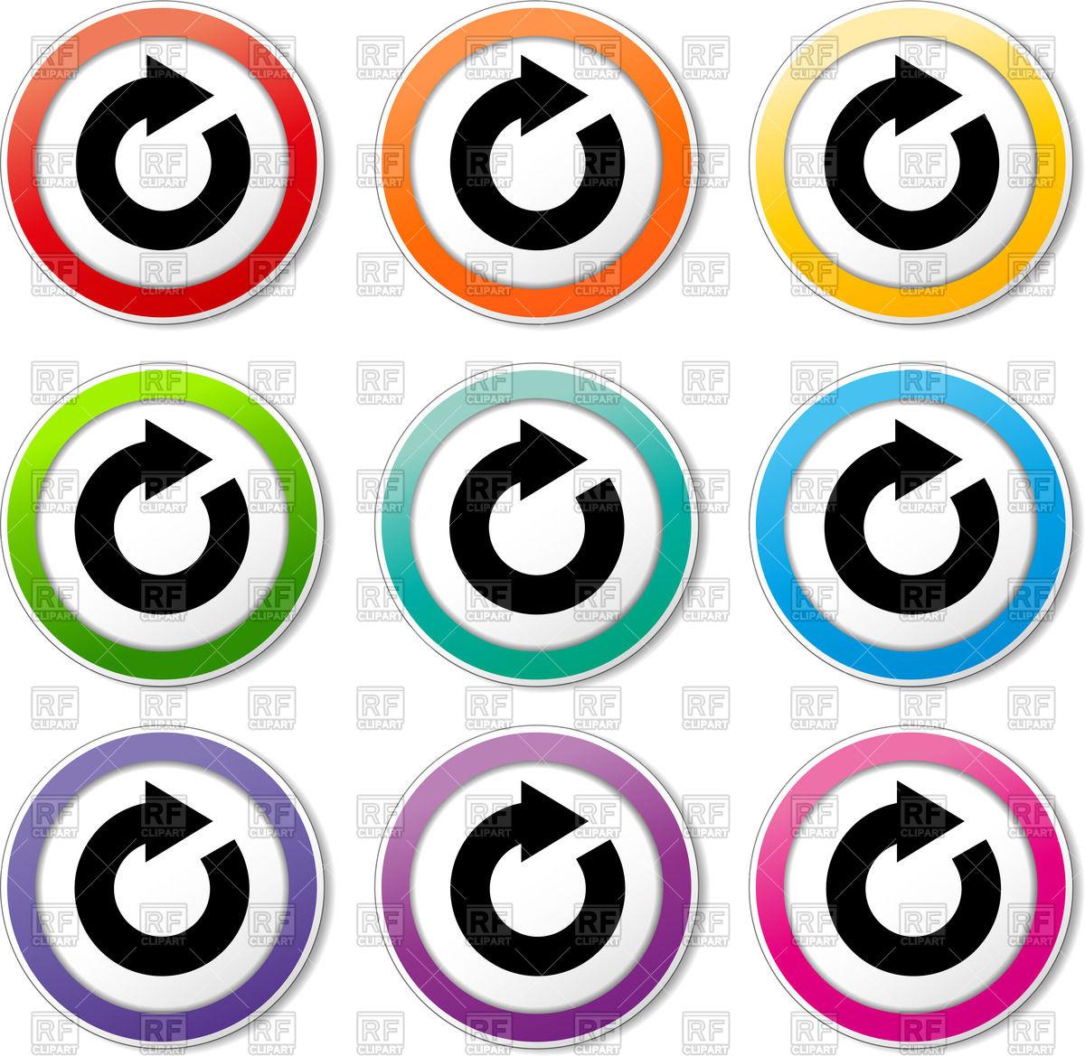 1200x1169 Refresh Icon Vector Image Vector Artwork Of Signs, Symbols, Maps