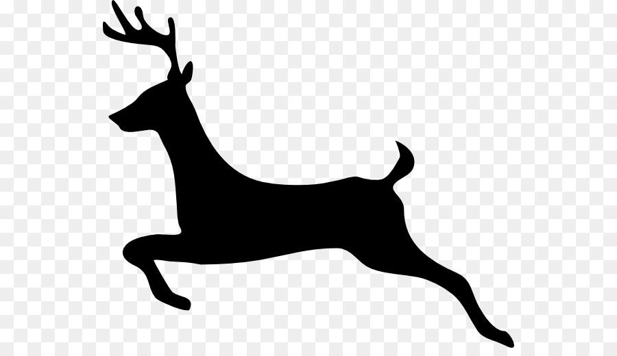 900x520 White Tailed Deer Reindeer Clip Art