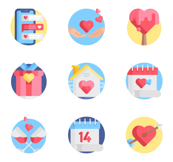 600x564 Relationship Icons