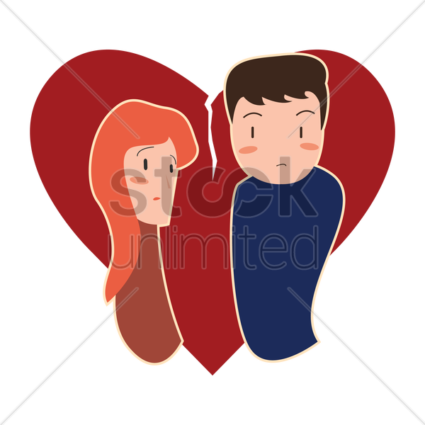 600x600 Couple In A Romantic Relationship Vector Image
