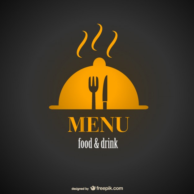 Golden Retro Restaurant Logo Set:  Restaurant Logo Vector Free Download At GetDrawings.com
