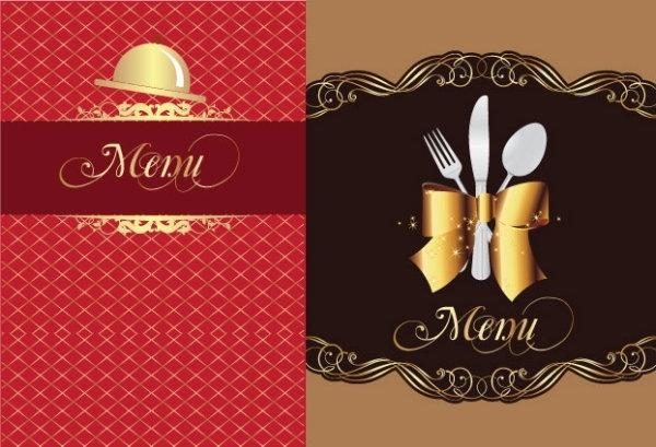 600x409 Restaurant Menu 01 Vector Free Vector In Encapsulated Postscript