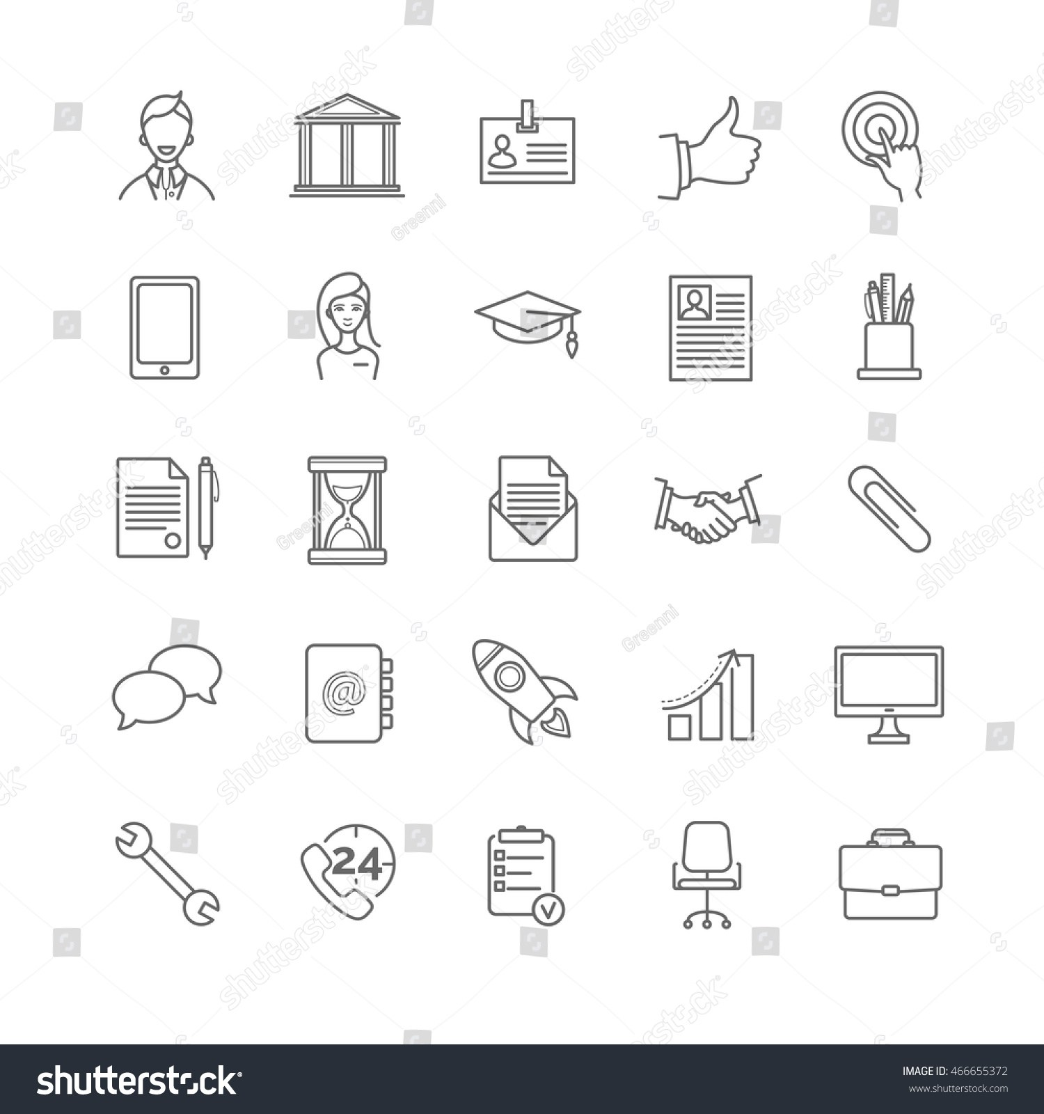 Resume Icons Vector At Getdrawings Com Free For Personal Use