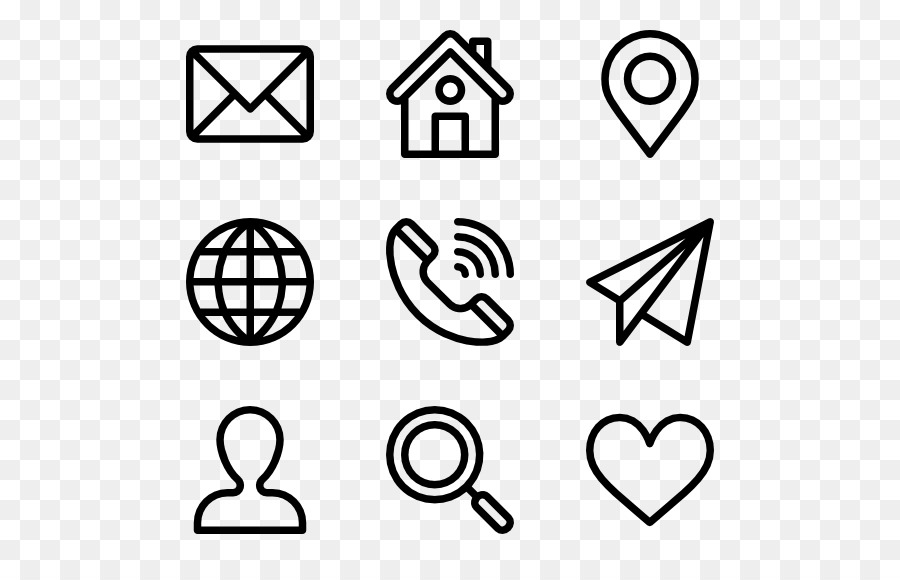 Resume Icons Vector At Getdrawings Com Free For Personal