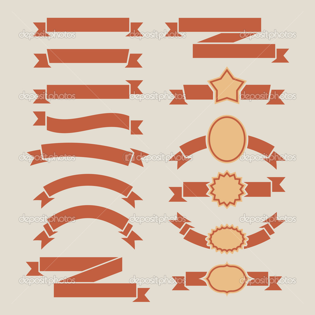 1024x1024 19 Retro Banners Vector Images
