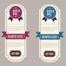 220x220 Free Download Of Retro Banner Vector