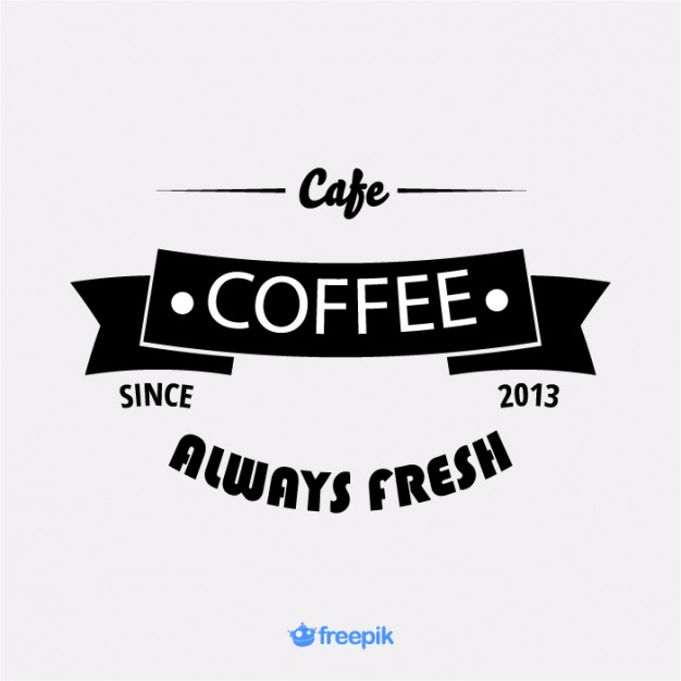 626x626 Vintage Banner Coffee Shop Ii Vector Free Vector Download In .ai