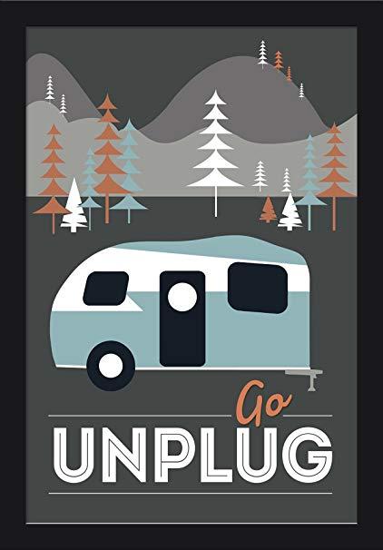 422x606 Go Unplug (Retro Camper)