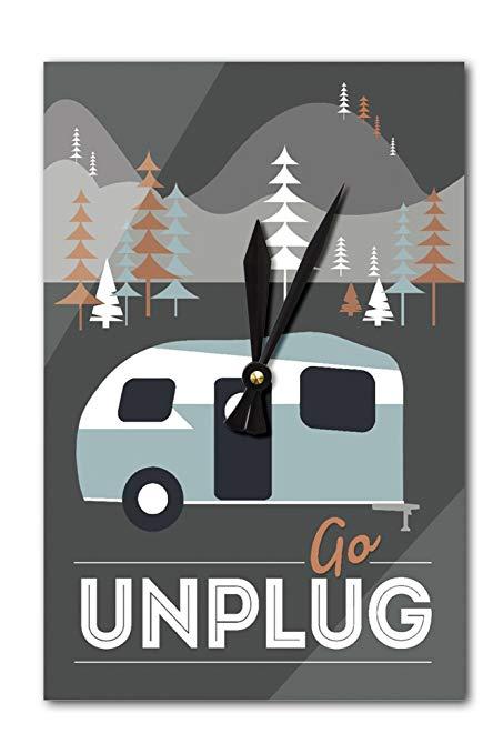 453x679 Go Unplug (Retro Camper)