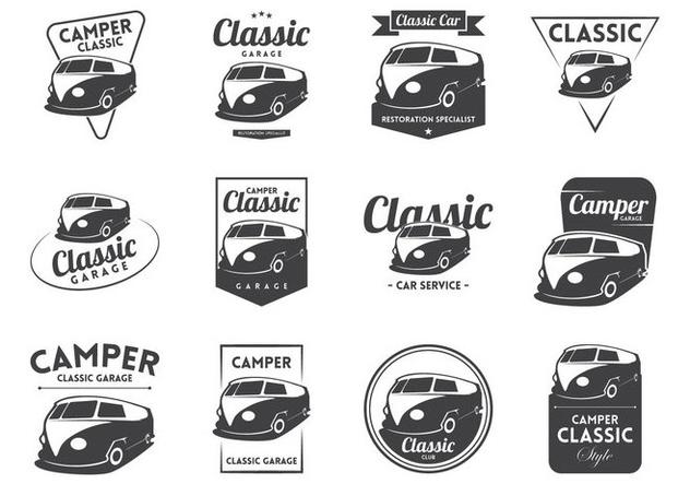 632x443 Vw Camper Vintage Logo Vector Free Vector Download 370103 Cannypic