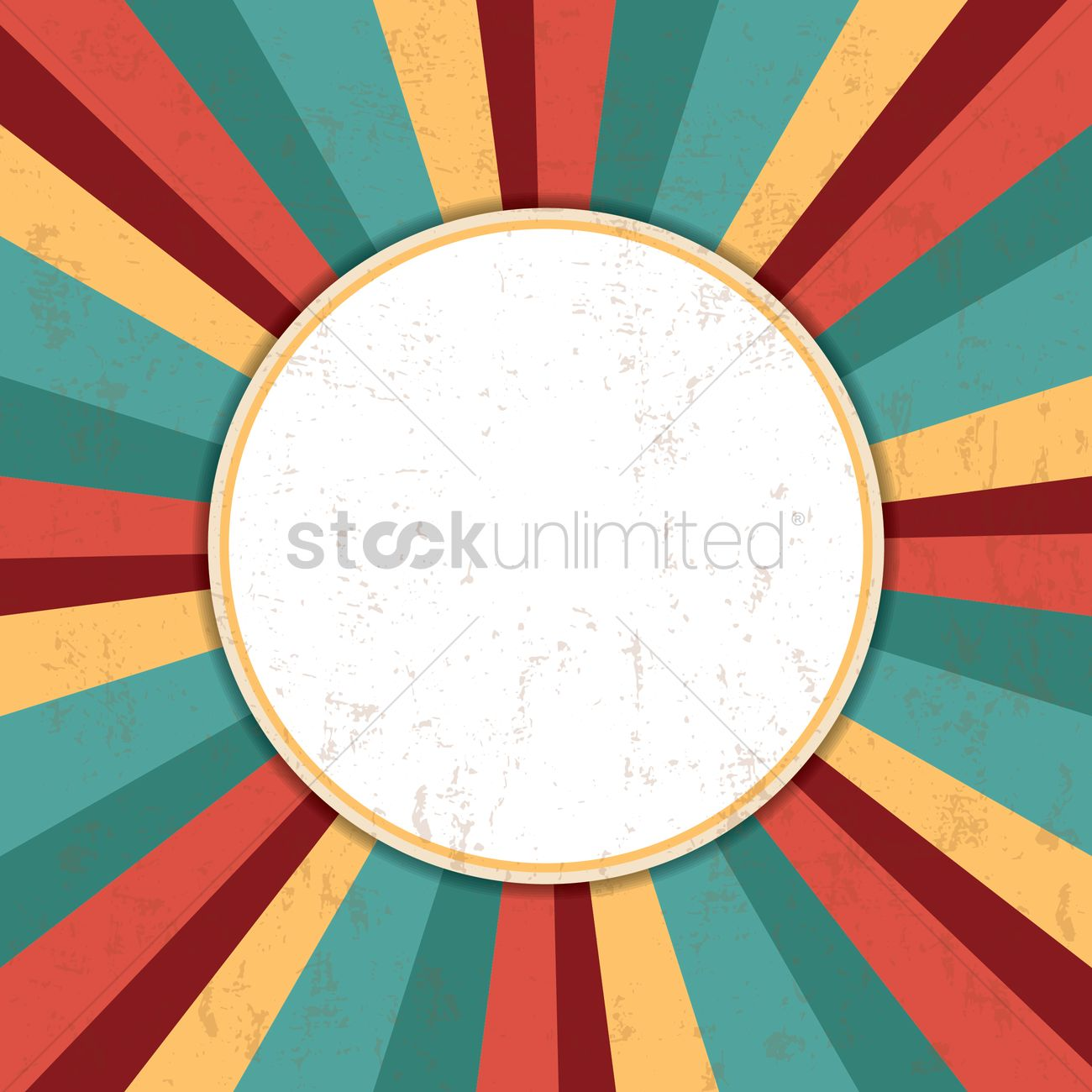 1300x1300 Retro Design Background Vector Image