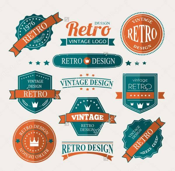600x588 Vintage Logo Designs Design Trends