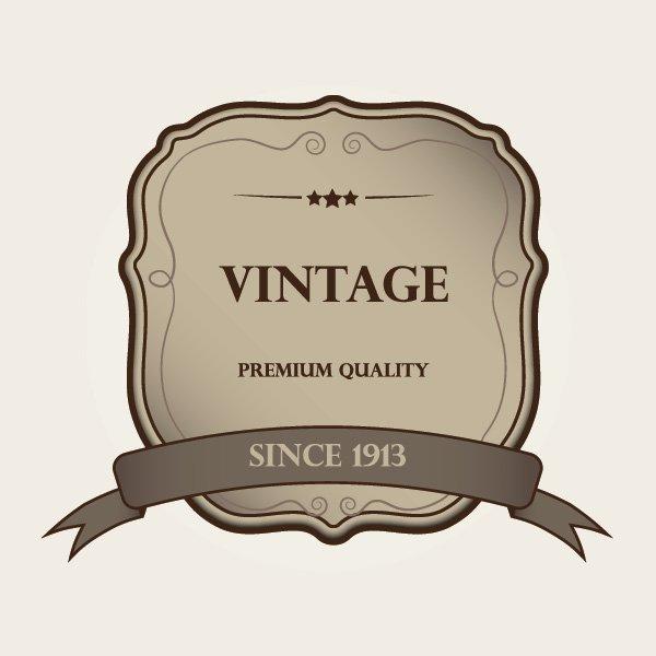 600x600 Vintage Label Vector Graphic Vector Free Vector Download In .ai