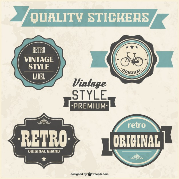 626x626 Retro Quality Badges Vector Free Vector Download In .ai, .eps