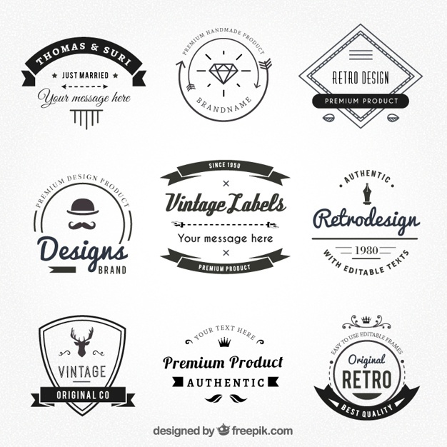 626x626 Vintage Logo Vectors, Photos And Psd Files Free Download