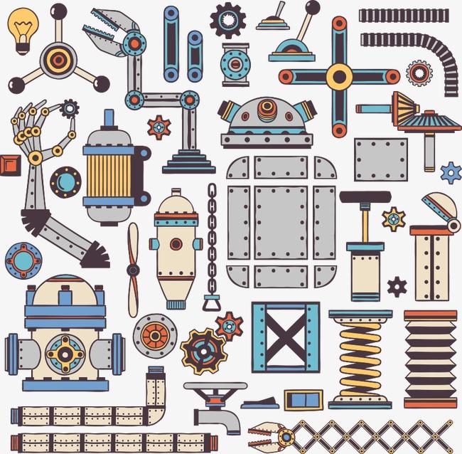 650x638 Vector Retro Robot, Retro Vector, Robot Vector, Retro Robot Png