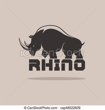 Rhino Vector at GetDrawings com   Free for personal use Rhino Vector