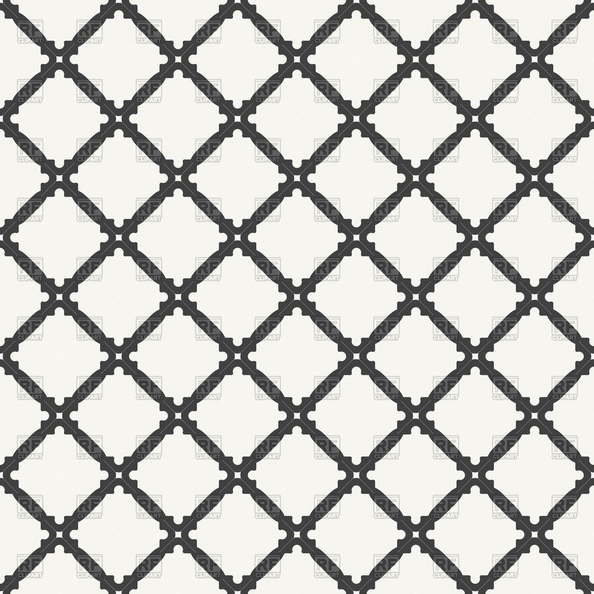 1200x1200 Seamless Pattern With Dark Rhombus Vector Image Vector Artwork