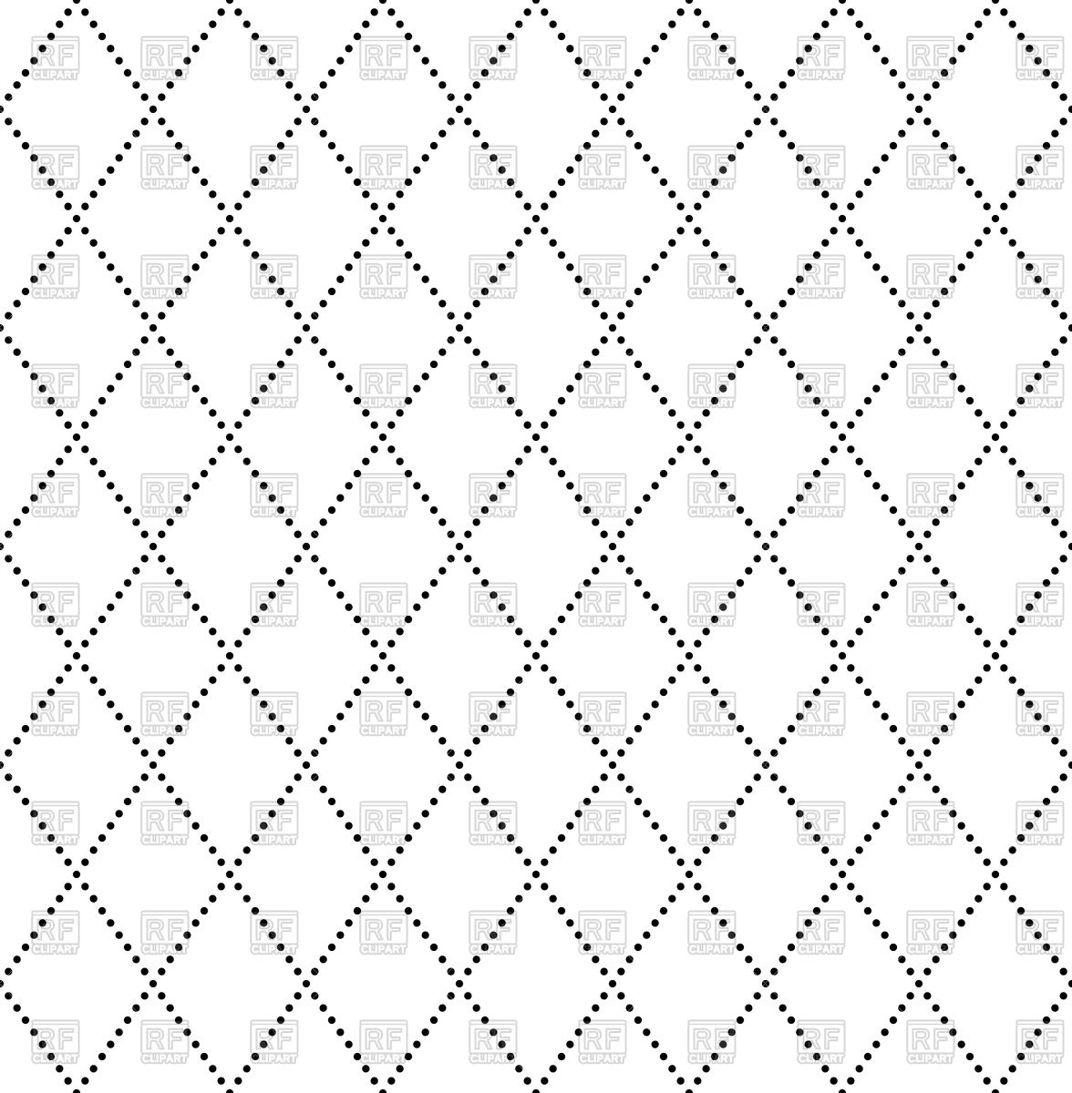 1176x1200 Seamless Pattern With Dotted Rhombus Vector Image Vector Artwork