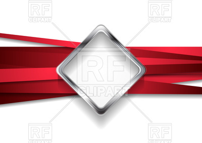 400x283 Corporate Abstract Background With Red Stripes And Silver Metal