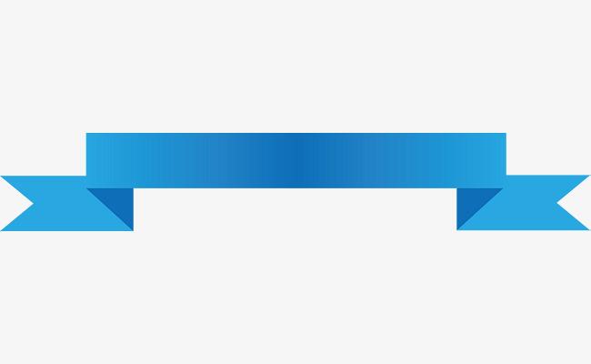 650x400 Blue Ribbon Banner Vector, Ribbon Banner, Title Ribbon, Blue
